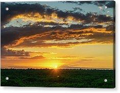 Mexico Sunset Full Acrylic Print