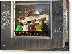 Midcentury Modern Storefront Acrylic Print