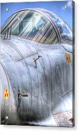 Mig-29 Fighter Jet Acrylic Print