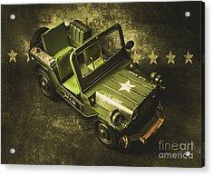 Military Green Acrylic Print