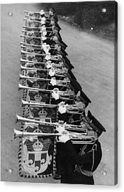 Military Music Acrylic Print by Douglas Miller