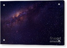 Milky Way Galaxy With Stars And Space Acrylic Print