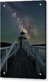 Milky Way Over Doubling Point Acrylic Print