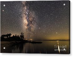 Acrylic Print featuring the photograph Milky Way Over The Outer Banks by Terry Rowe