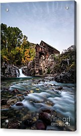 Mill On Crystal River Acrylic Print