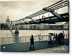 Millennium Bridge 03 Acrylic Print