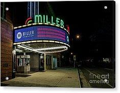 Miller Theater Augusta Ga 2 Acrylic Print