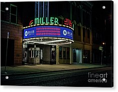 Miller Theater Augusta Ga Acrylic Print