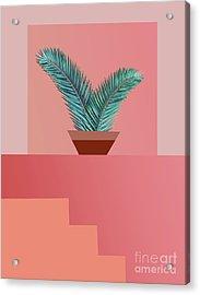Minimal Tropic Acrylic Print