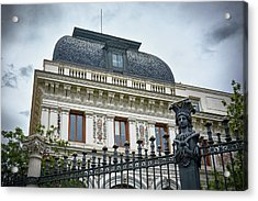 Ministry Of Agriculture Building Of Madrid Acrylic Print