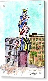 Roy Lichtenstein's El Cap Acrylic Print
