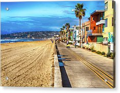 Mission Beach Boardwalk Acrylic Print