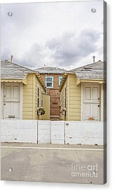 Mission Beach Cottages Acrylic Print