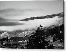 Acrylic Print featuring the photograph Misty Mountain  by Pete Federico