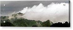 Misty Mountains II 3x1 Acrylic Print