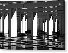 Modern Abstract In Architecture Acrylic Print