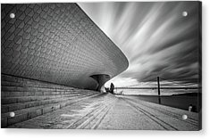 Acrylic Print featuring the photograph Modern Architectural Details by Michalakis Ppalis