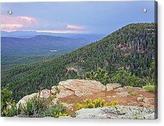 Acrylic Print featuring the photograph Mogollon Rim Sunset by Dawn Richards