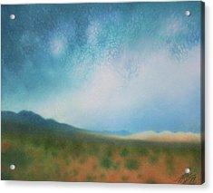 Mojave Wilderness Acrylic Print by Robin Street-Morris
