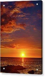 Monday Sunset Acrylic Print