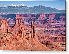 Acrylic Print featuring the photograph Monster Tower by Andy Crawford