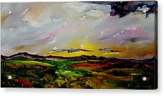 Montana Summer Storms        5519 Acrylic Print