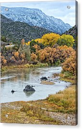 Monument Autumn Acrylic Print