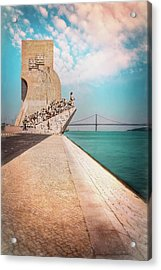 Monument To The Discoveries Belem Lisbon Portugal Acrylic Print