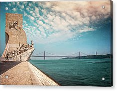 Monument To The Discoveries Lisbon Portugal Acrylic Print