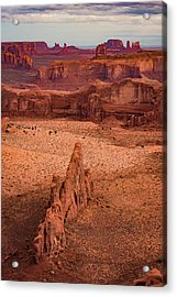 Monument Valley From Hunt's Mesa Acrylic Print