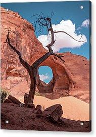 Monument Valley IIi, Ear Of The Wind Acrylic Print