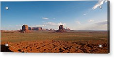 Acrylic Print featuring the photograph Monument Valley by Mark Duehmig