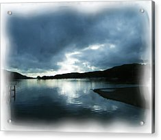 Moody Sky Painting Acrylic Print