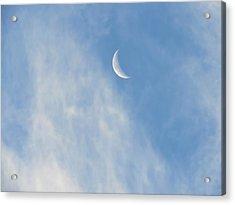 Moon In Libra - Crescent Farewell Acrylic Print
