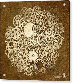 Moon Mechanics Acrylic Print