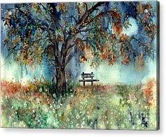 Moonlight Shadows Acrylic Print