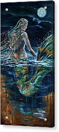 Moonlight Stroll Acrylic Print