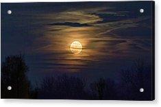 Acrylic Print featuring the photograph Moonrise by Allin Sorenson