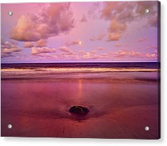 Moonrise, Mayaro Acrylic Print