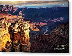 Acrylic Print featuring the photograph Moran Point 3 by Scott Kemper