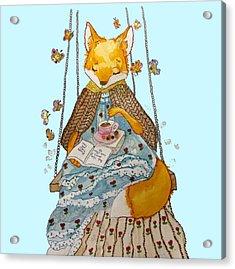 Morgan's Fox Acrylic Print