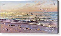 Morning Glisten Acrylic Print