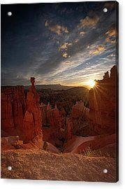 Acrylic Print featuring the photograph Morning Kiss by Edgars Erglis
