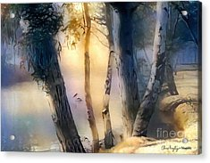 Morning On The Murray Acrylic Print