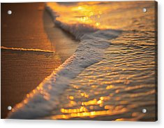 Morning Shoreline Acrylic Print