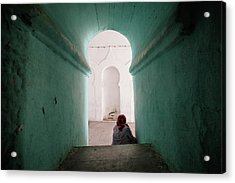 Acrylic Print featuring the photograph Morocco by Nicole Young