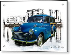 Morris Super Minor Acrylic Print