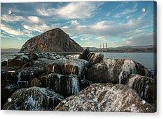 Morro Rock Breakwater Acrylic Print