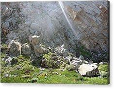 Morro Rock Cluster Acrylic Print