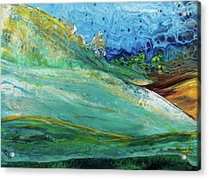 Mother Nature - Landscape View Acrylic Print